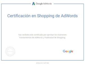 Certificacion Examen Google AdWords